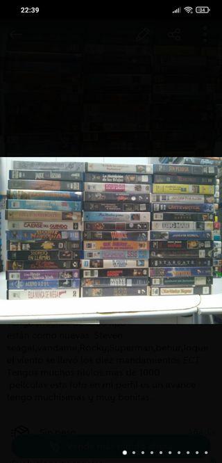 películas VHS 5€