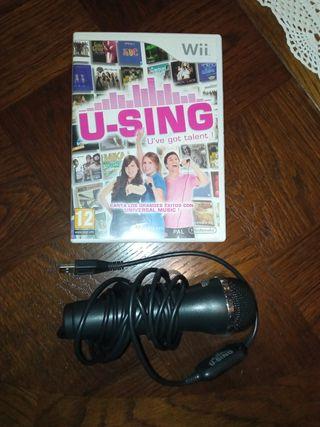 U-Sing Wii + mando