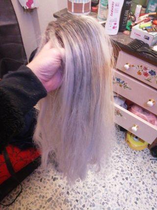 Peluca Blanca - Rubia