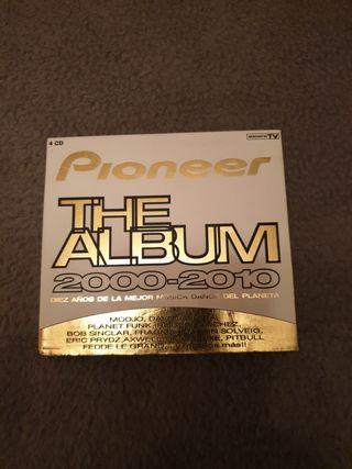 pioneer the álbum 2000-2010 nuevo 4 cds