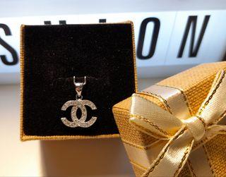 colgante Coco Chanel plata de ley