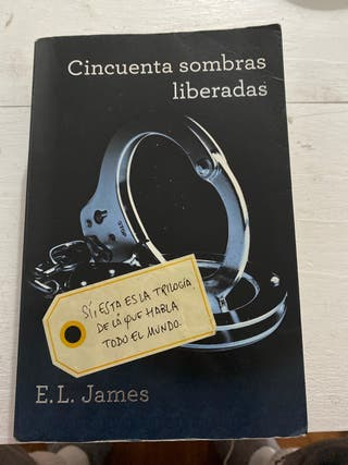 "Libro ""Cincuenta sombres liberadas""."