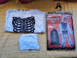 Disfraz esqueleto RX 3 - 4 años