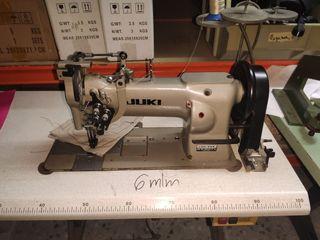 maquina de coser triple arrastre juki dos agujas