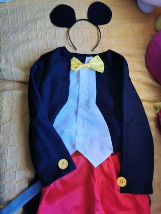 Disfraz Mickey Mouse 5 - 6 años