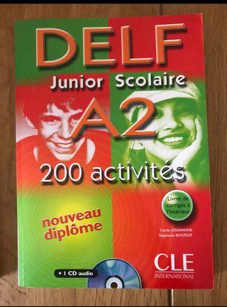 DELF Francés A2 - Libro + CD + Respuestas Nuevo