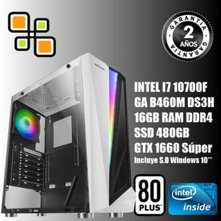 PC Gamer i7 10700 / 16gb RAM / GTX 1660 Súper