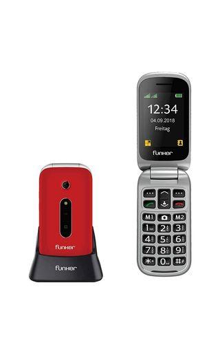Teléfono Móvil Funker C75 Rojo