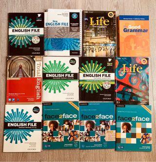 Libros de texto inglés A1-C1