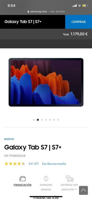 Samsung tablet s7 plus 5g