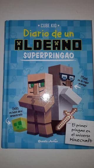 Libro diario de un aldeano SUPERPRINGAO