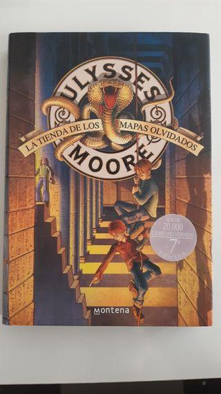 Ulysses Moore. La tienda de los mapas olvidados.