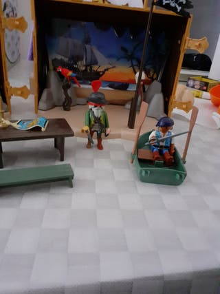 cofre maletín piratas playmobil