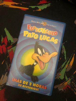 Película VHS El Pato Lucas