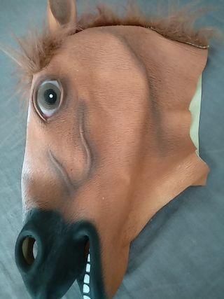 mascara caballo