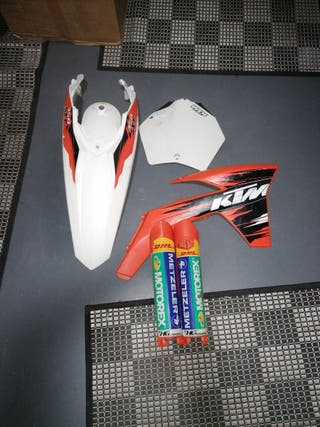 plásticos /tapas KTM