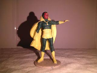 Figura de plomo Vision tm marvel 2004