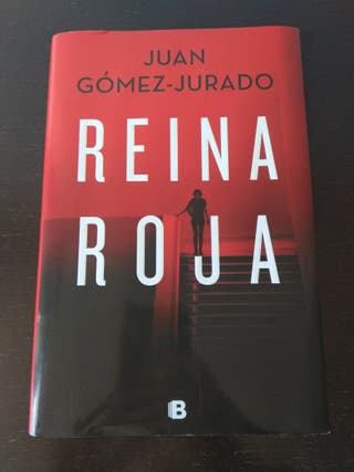 Libro Reina Roja del escritor Juan Gómez Jurado