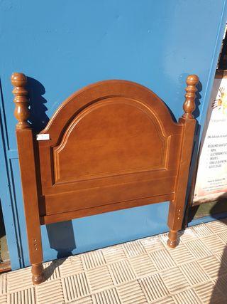 Cabecero de cama madera Individual