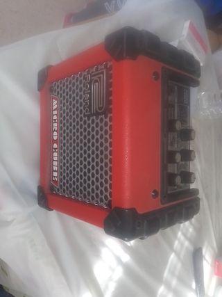 amplificador de guitarra microcube
