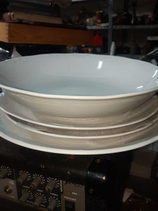 platos grandes o bandejas marca BIDASOA
