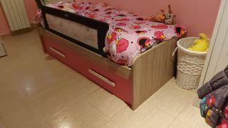 Cama nido y muebles hab. infantil/juvenil