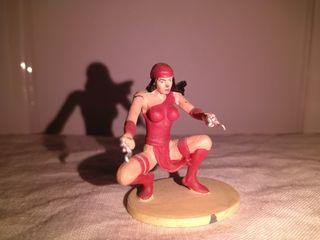 Figura de plomo Elektra tm marvel 2004
