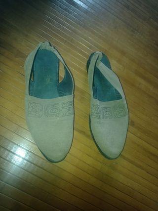 Zapato mujer chica plano 38