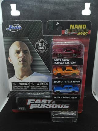 Pack Fast & Furious Supra Escort Charger Toretto
