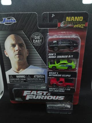 Pack Fast & Furious Eclipse Charger Toretto