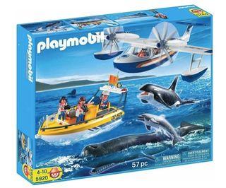 Playmobil: investigación marina SIN ABRIR