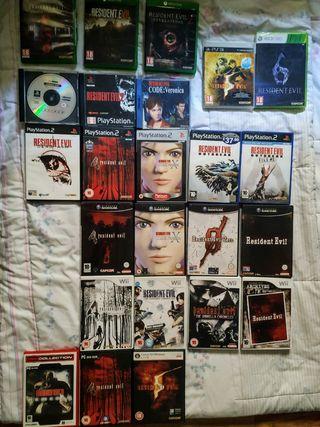 Colección Resident Evil