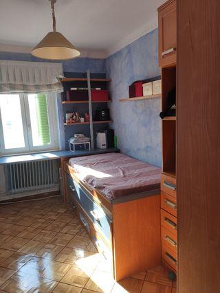 habitación escritorio, cama nido y armario