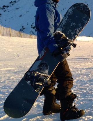 Tabla snowboard Burton custom 154