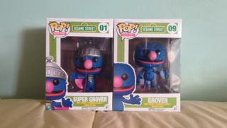 Pack Funko Pop Grover y SuperGrover