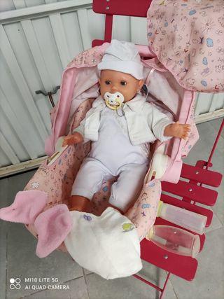 Baby Annabell y carrito Imaginarium