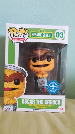 Funko Oscar the Grouch Exclusivo