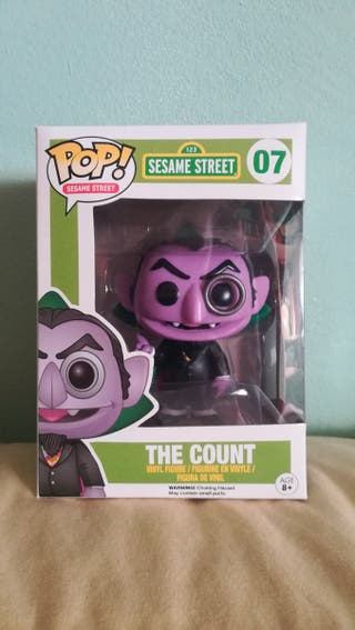 Funko Pop The Count Sesame Street