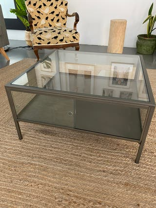 Mesa de centro auxiliar vitrina Ikea