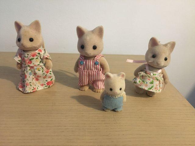 Familia gato de Sylvanian Family