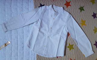 Camisas Oxford color blanco GOCCO