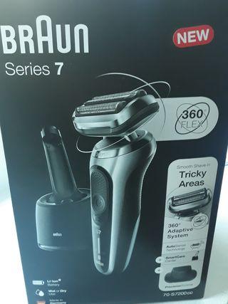 afeitadora Braun 70-S7200 cc SIN ESTRENAR