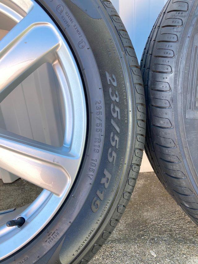 """Llantas 19"""" neumaticos 235 55 19 nuevos Volvo XC90"""