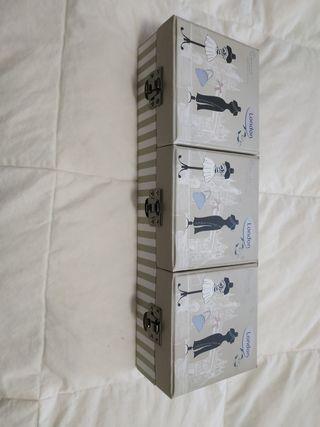 Capsa / caja cartró/ cartón 3 apartats