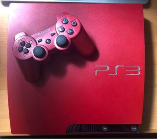 PS3 Slim Roja 320GB