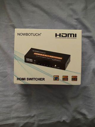 HDMI Conmutador de 5 salidas