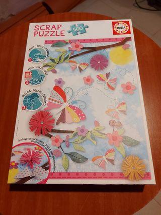 Puzzle Scrap-Educa