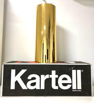 Lámpara dorada Kartell NUEVA