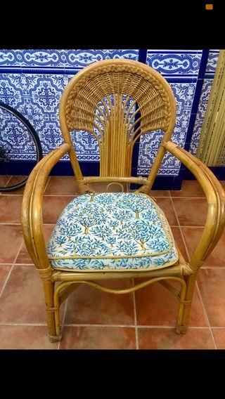 Dos sillones BAMBÚ precio de los dos