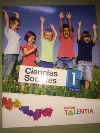 Libro NUEVO CIENCIAS SOCIALES EDEBE 1 primaria